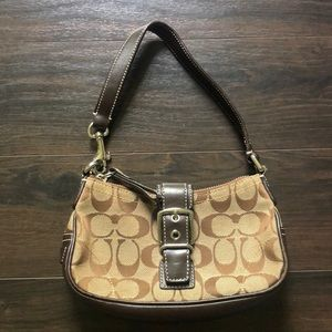 Mini Coach Purse- Satchel